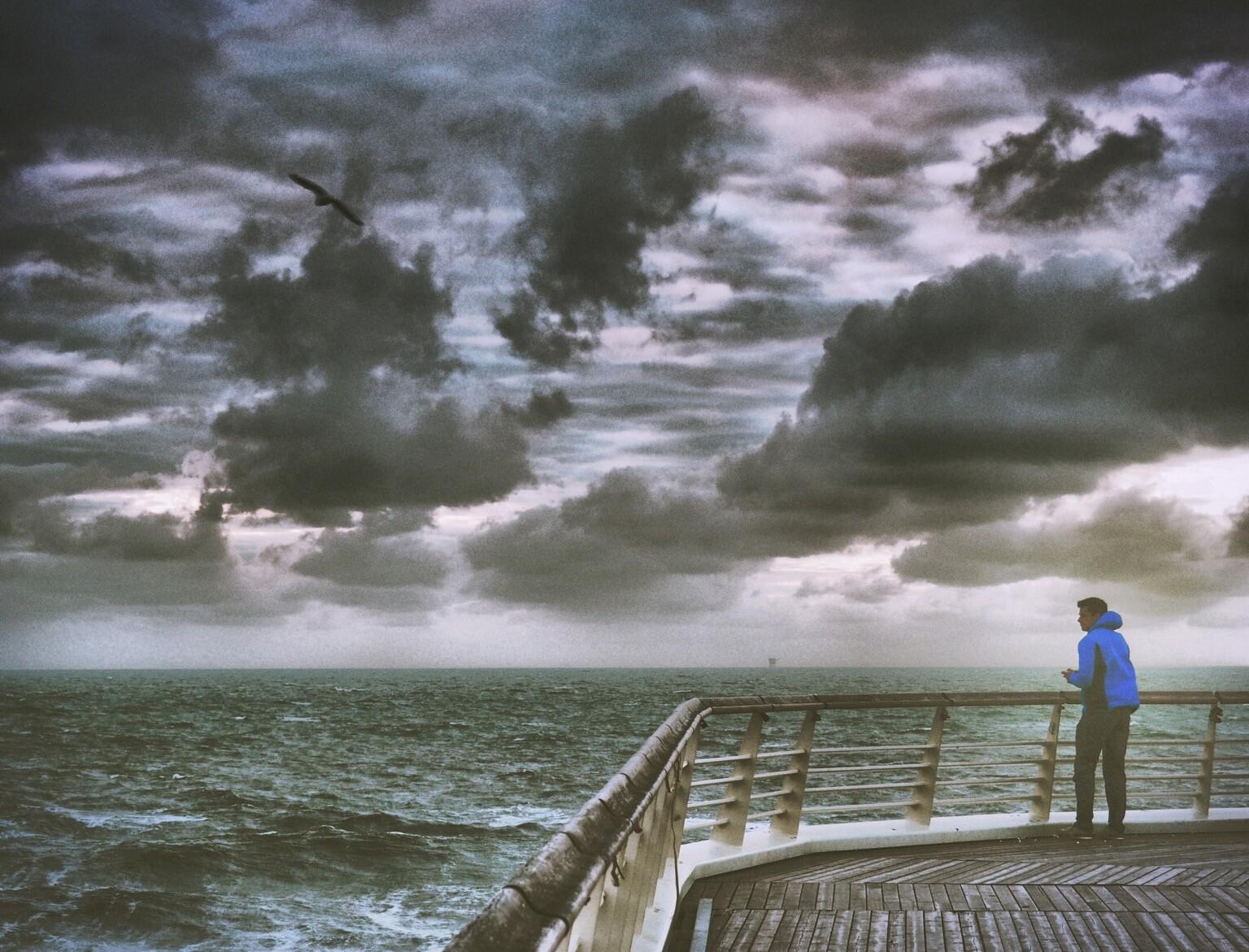 """infoleck: """"Bei so einem Wind wünsche ich …"""""""